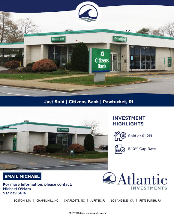 Pawtucket RI JUST SOLD - CitizensBank